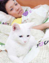 Sleeping Beside Pets